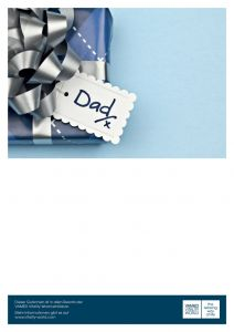 Spa voucher for Father's Day